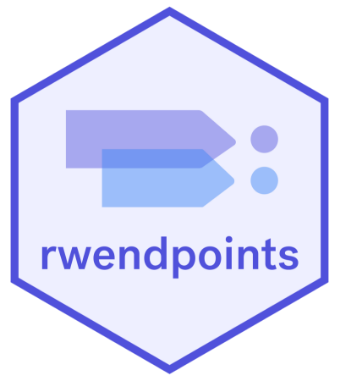 rwendpoints r package hex